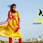 Latest Winter Dress Collection 2014 for Women by Azleena Faisal  2