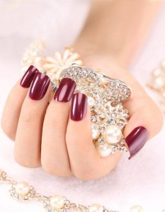 Latest and stylish Modern Nail Designs 2014-2015 For Bridals (6)