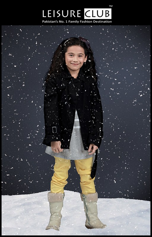 Leisure Club Winter Dresses Collection 2013 For Kids 001