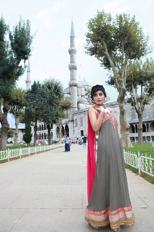 Maria K Casual Party Wear Dresses 2013 001