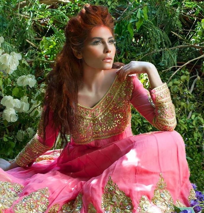 Mina Hasan Bridal Wear Dress New Collection 2014-15 For Women (2)
