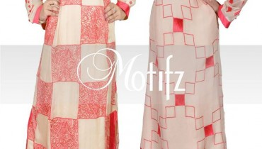 Motifz Winter Latest Dresses Collection 2014 001