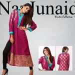 NazJunaid Latest Winter Party Dress New Collection 2014-15 For Women (2)