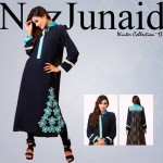 NazJunaid Latest Winter Party Dress New Collection 2014-15 For Women (6)