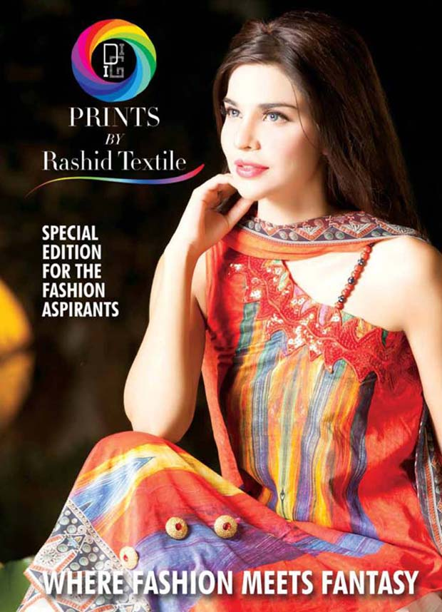 New Rashid Textiles Fancy Digital Linen Winter Dresses Collection