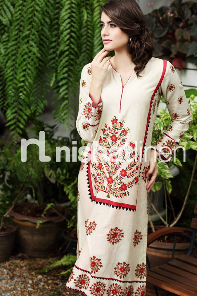Nishat Linen Stylish Winter Pret Dresses Volume-2 ,2013-14 (1)