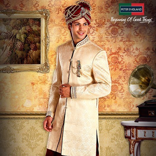 Peter England Fancy Men's Sherwani Collection 2013-14