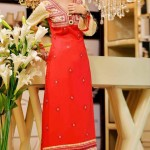 Rujhan Fabric Stylish Winter Dresses Collection For Girls 1
