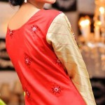 Rujhan Fabric Stylish Winter Dresses Collection For Girls