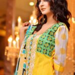Rujhan Fabric Stylish Winter Dresses Collection For Girls 4