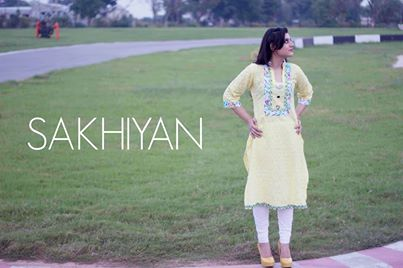 Sakhiyan Latets Winter Wear Dress Collection 2014 For Women (1)