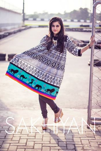 Sakhiyan Latets Winter Wear Dress Collection 2014 For Women (6)