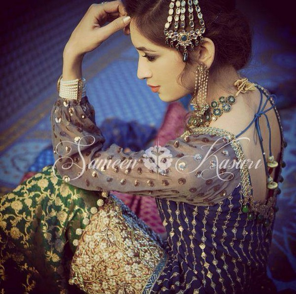 Sameen Kasuri Latest Bridal Wear Collection 2014-15 For Women (1)