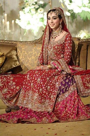 Style Couture Beautiful Bridals Wear Dress Collection 2014 For Women (4)
