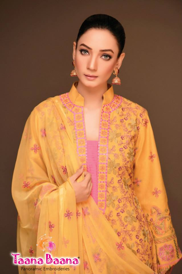 Taana Baana Casual Wear Stylish Collection 2014 For Women (1)