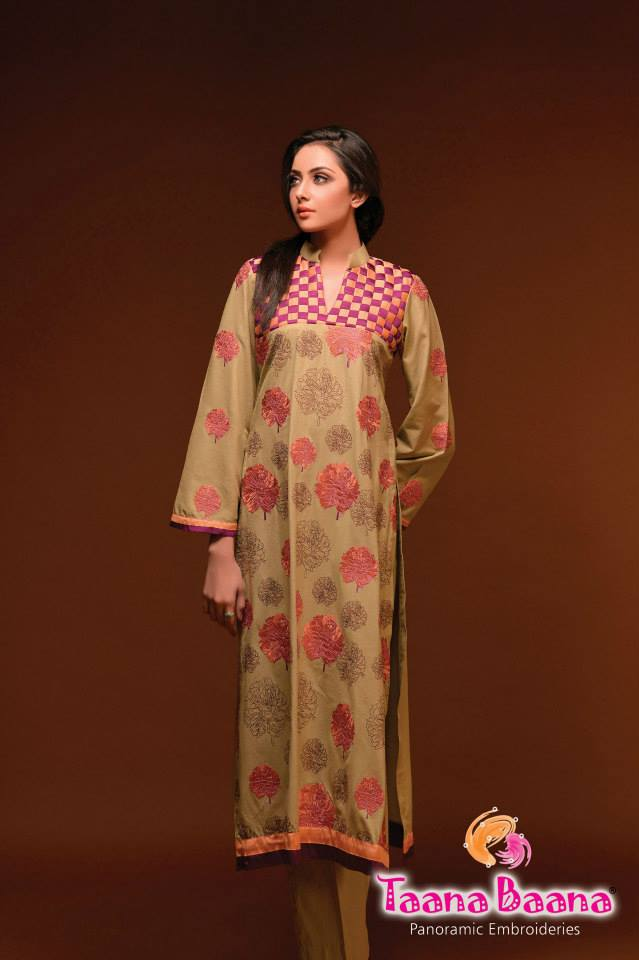 Taana Baana Casual Wear Stylish Collection 2014 For Women (9)