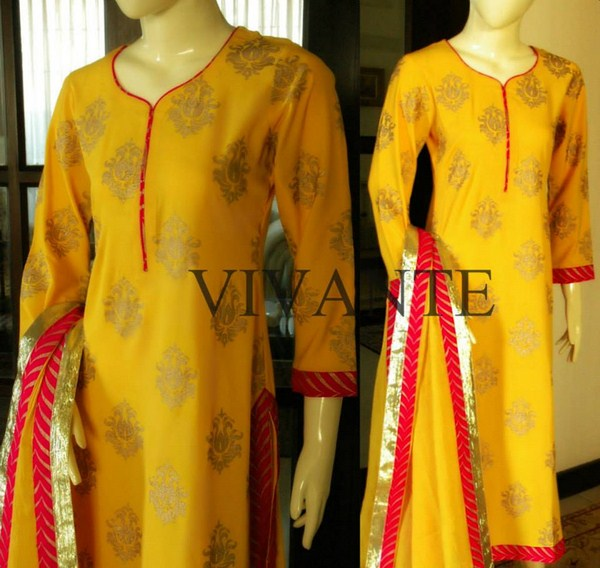 Vivante Latest Winter Dress Collection 2014 For Women (1)