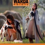 Warda Latest Embroidered Shirts Collection 2014-2015 For Women (2)