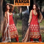 Warda Latest Embroidered Shirts Collection 2014-2015 For Women (4)
