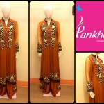 Winter Party Wear Dresses Collection 2014 For Ladies By Pankheri 003