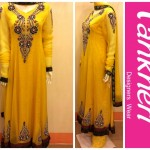 Winter Party Wear Dresses Collection 2014 For Ladies By Pankheri 004