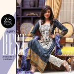 ZS Textiles Party Winter Dresses Collection 2014 002