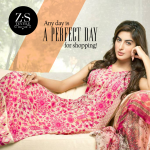 ZS Textiles Party Winter Dresses Collection 2014 004