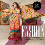 ZS Textiles Party Winter Dresses Collection 2014 005