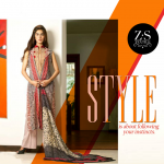 ZS Textiles Party Winter Dresses Collection 2014 006
