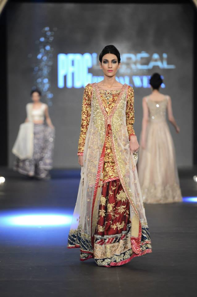 "Zara Shahjahan ""True Love"" Bridal Collection 2013-14 2"