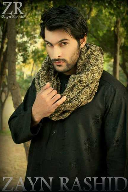 Zayn Rashid Latest Winter Dress Collection 2014 Vol 2 By Men (1)