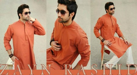Zayn Rashid Latest Winter Dress Collection 2014 Vol 2 By Men (4)