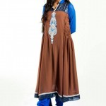 Zunaira's Lounge Party Wear Winter Dresses Collection 2013 004