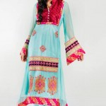 Zunaira's Lounge Party Wear Winter Dresses Collection 2013 006
