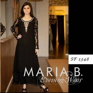 Beautiful Evening Wear Dresses By Maria B 007