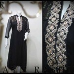 Black Dresses Collection 2014 By Zayn Rashid 002