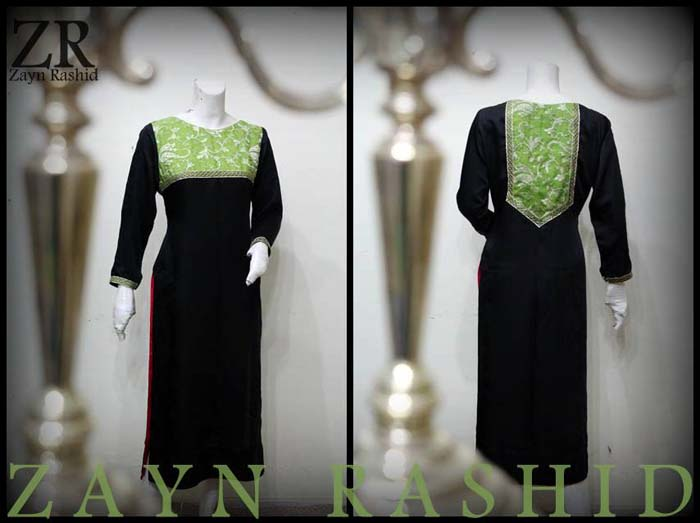 Black Dresses Collection 2014 By Zayn Rashid 005