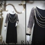 Black Dresses Collection 2014 By Zayn Rashid 009