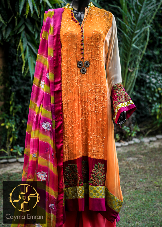 Cayma Emraan Women Outfits Collection 2014 for Spring Season
