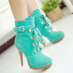 Custom Airbrushed High Heel Shoes Collection 2014 for Women 2