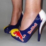 Custom Airbrushed High Heel Shoes Collection 2014 for Women 4