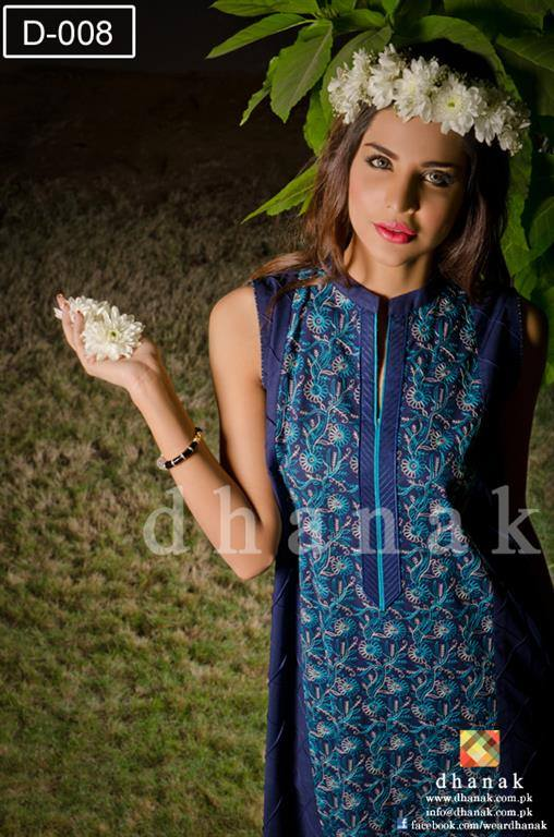 Dhanak Spring Summer Cotton Collection 2014 for Women 3