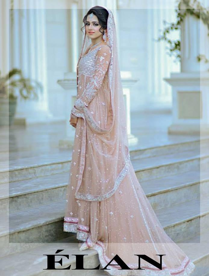 Elan Bridal Wear Wedding Dress Collection 2014 BY Khadijah Shah 5