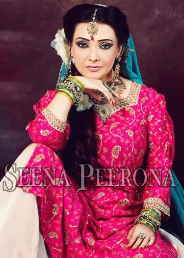 Exclusive Bridal Dresses Collection of Seena Peerona 2014 001