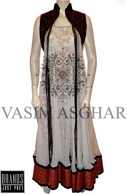 Exclusive Vasim Asghar Party Wear Collection 2014 for Women (2)