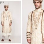 Fahad Hussayn Couture Winter Wedding Sherwani Collection 2014 For Groom (1)