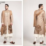 Fahad Hussayn Couture Winter Wedding Sherwani Collection 2014 For Groom (2)