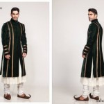 Fahad Hussayn Couture Winter Wedding Sherwani Collection 2014 For Groom (5)