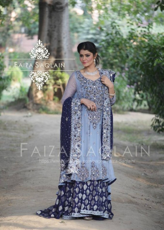 Formal Wear 2014 For Girls By Faiza Saqlain 001