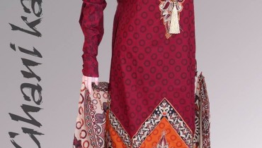 Ghani Textile Winter Dresses Collection 2014 001